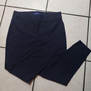 Navy Blue stretch 16W pants